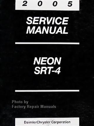 2005 dodge neon service manual pdf