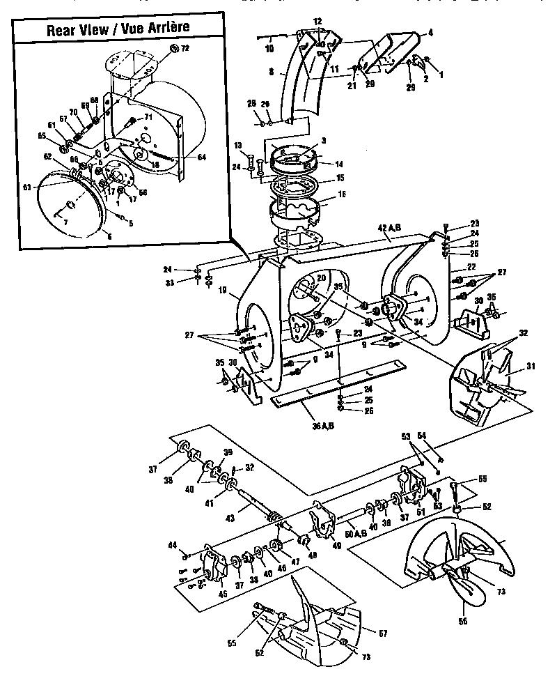 john deere 826 snowblower parts manual