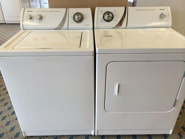 admiral heavy duty super capacity washer manual