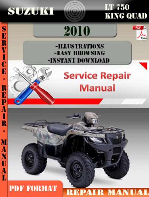 suzuki king quad 750 service manual pdf