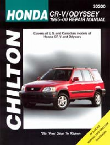 2012 honda odyssey service manual
