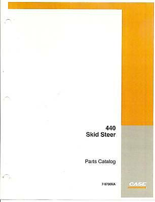 case 440 skid steer service manual