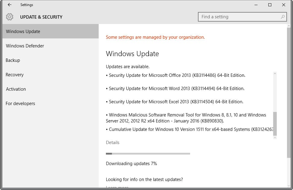 windows 7 security updates manual download
