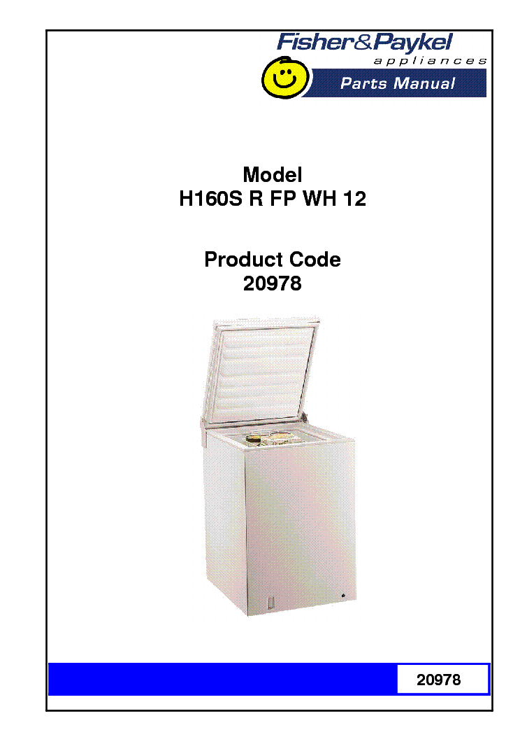 fisher paykel dd603 parts manual