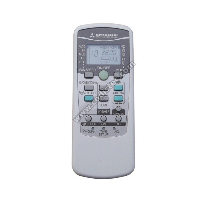 mitsubishi rkw502a200 remote control manual