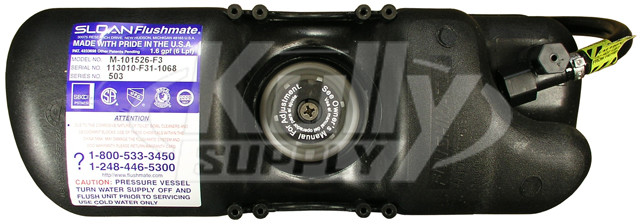 sloan flushmate m 101526 f3 manual