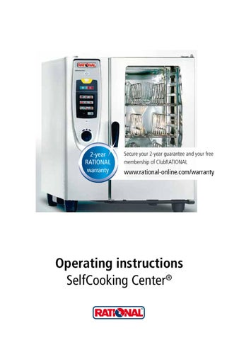 rational combi oven installation manual
