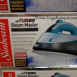 sunbeam turbo steam master professional iron manual