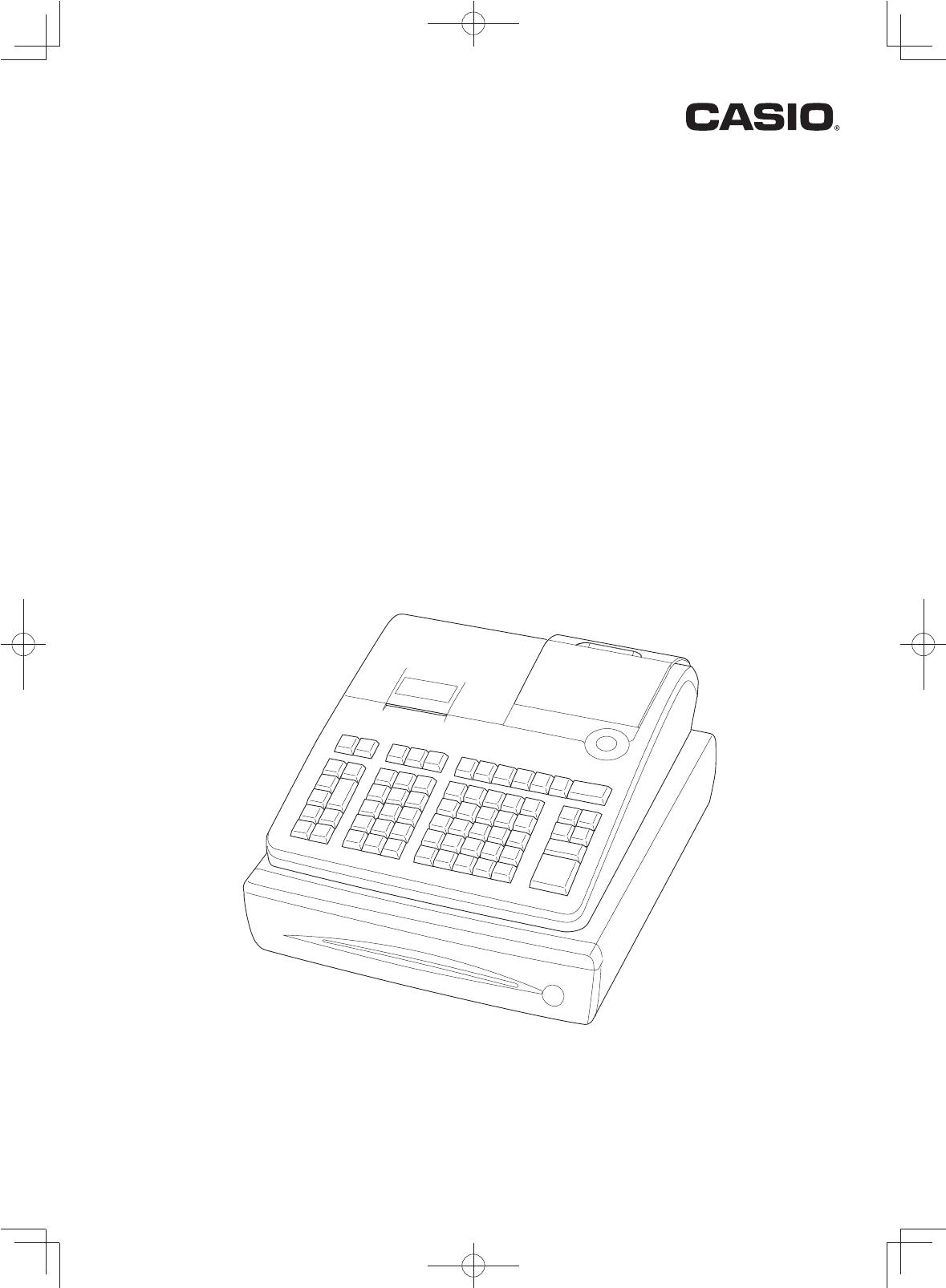 casio se s700 cash register manual
