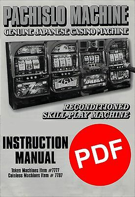 bally 809 slot machine manual
