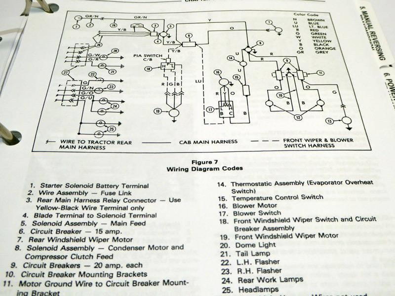 ford 550 backhoe service manual