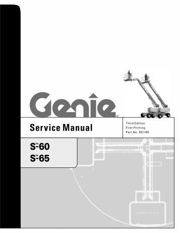 genie gs 3246 service manual