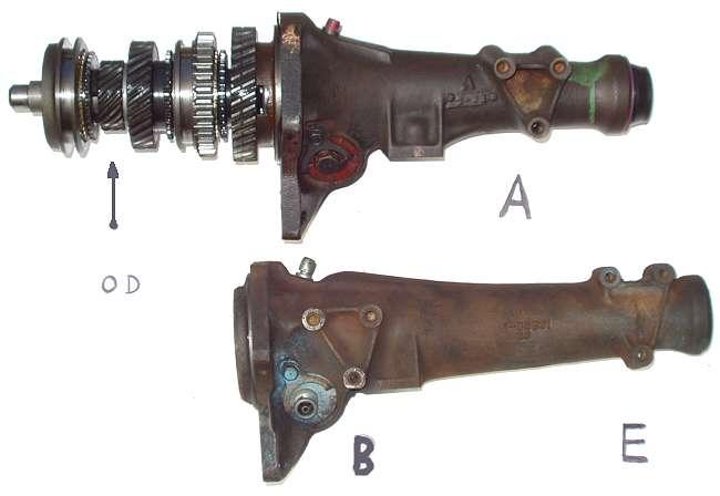 mopar 3 speed manual transmission