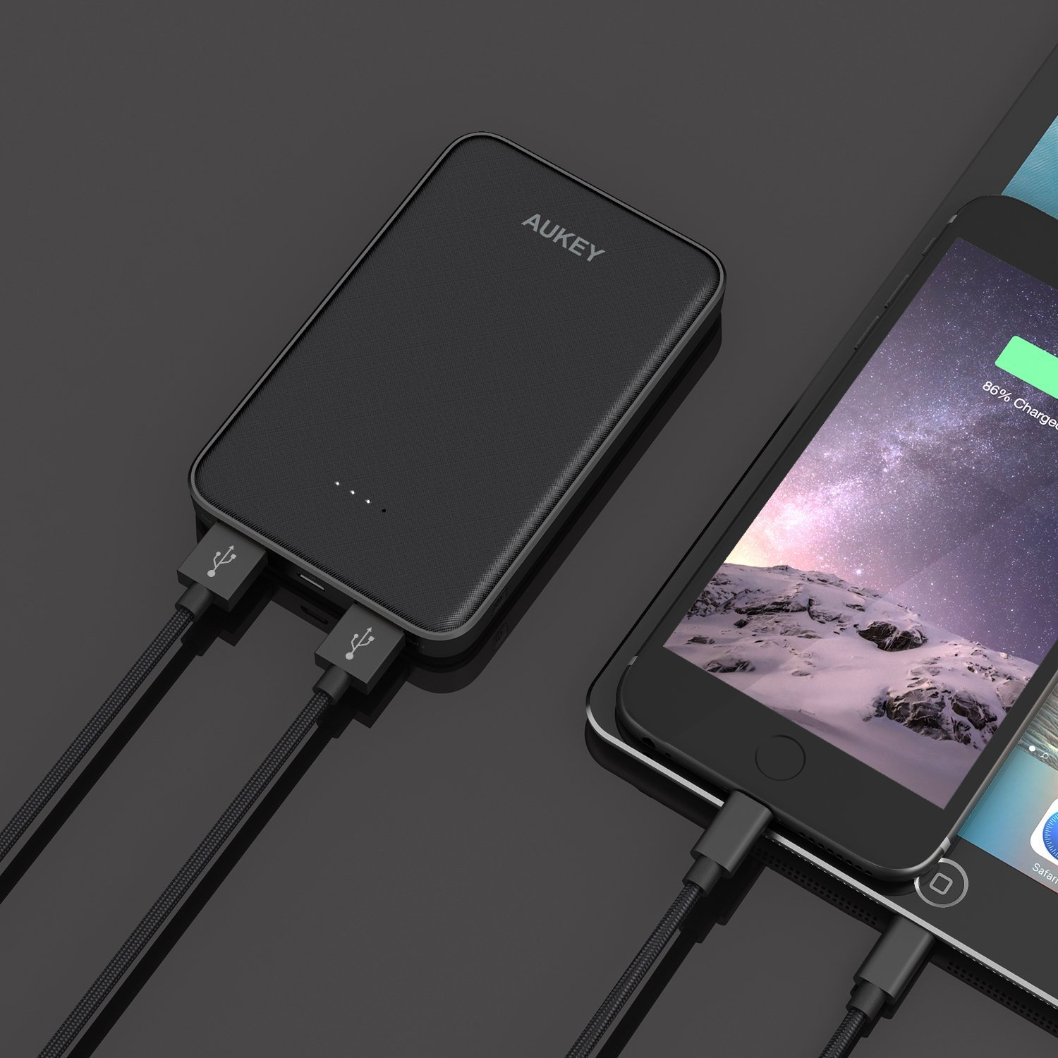 aukey 12000mah portable power bank manual