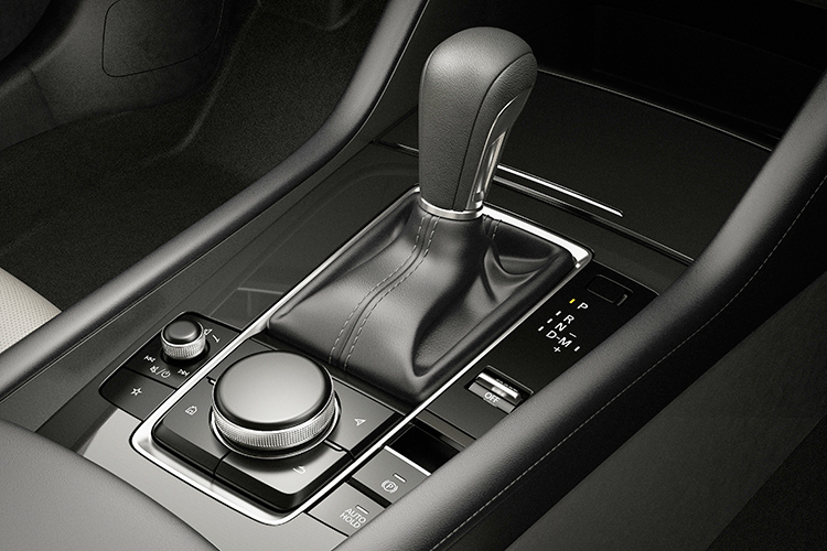 automatic transmission with manual mode