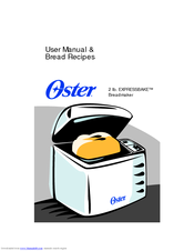 oster bread machine manual 5838