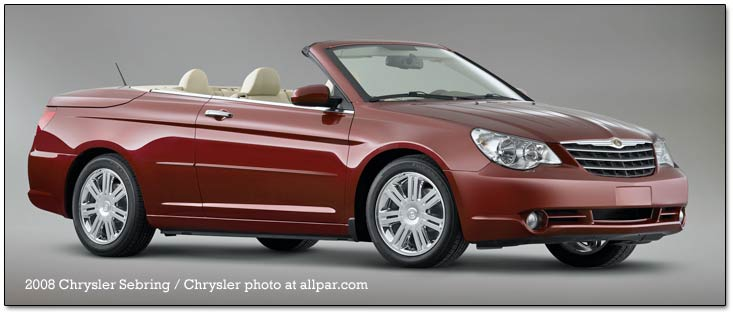 2009 chrysler sebring convertible owners manual