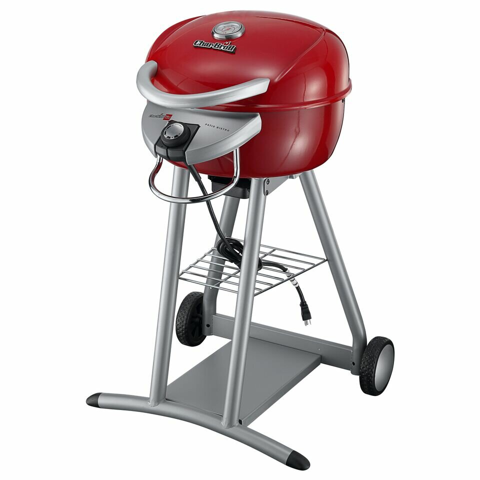 char broil patio bistro electric grill manual