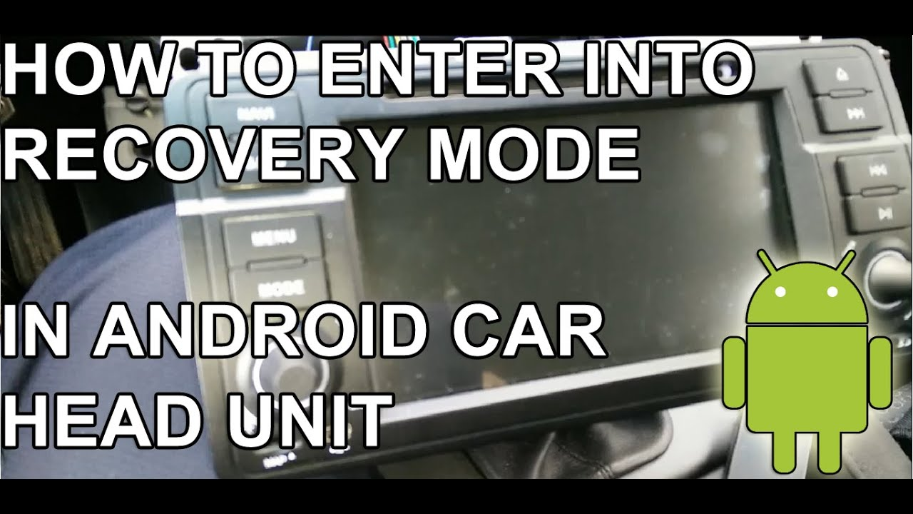 android system recovery manual mode