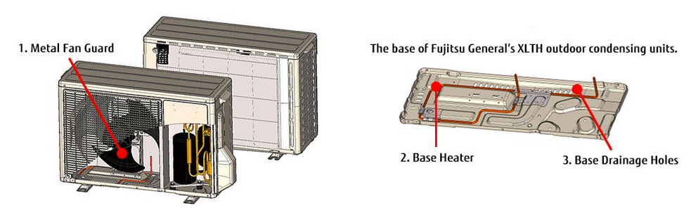 fujitsu halcyon mini split installation manual