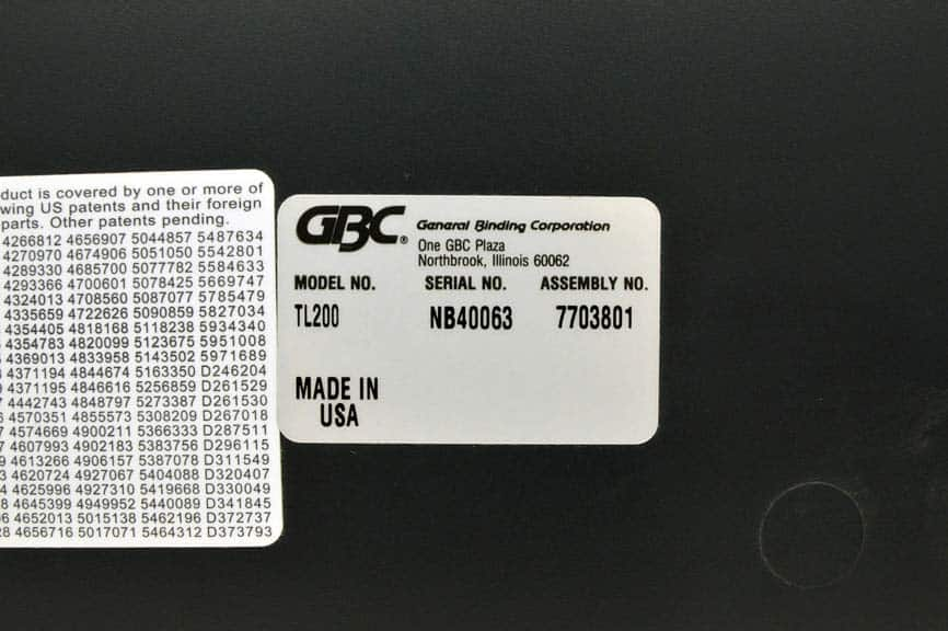 gbc docubind p200 binding system manual