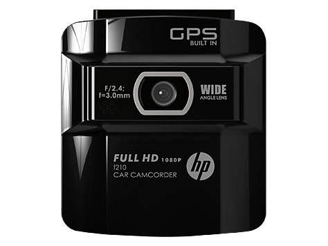 hp car camcorder f210 manual