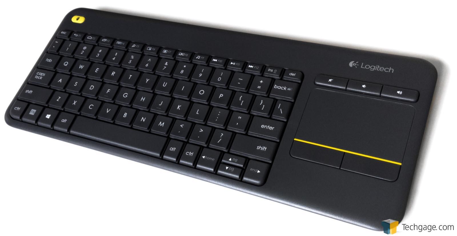 logitech wireless keyboard k400 manual