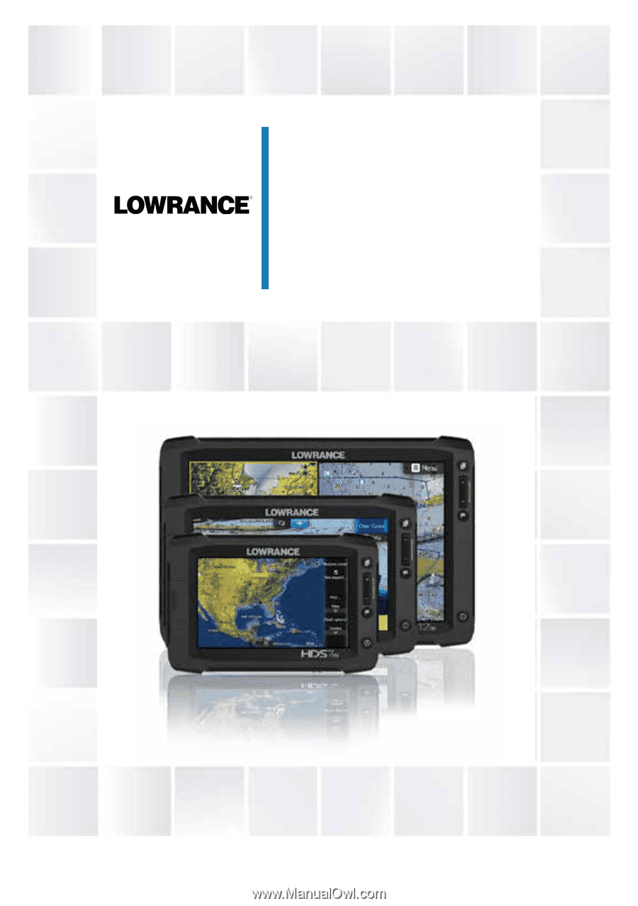 lowrance hds 7 gen2 touch manual