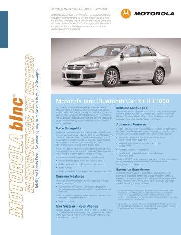 motorola bluetooth car kit manual