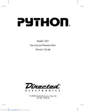 python remote car starter manual