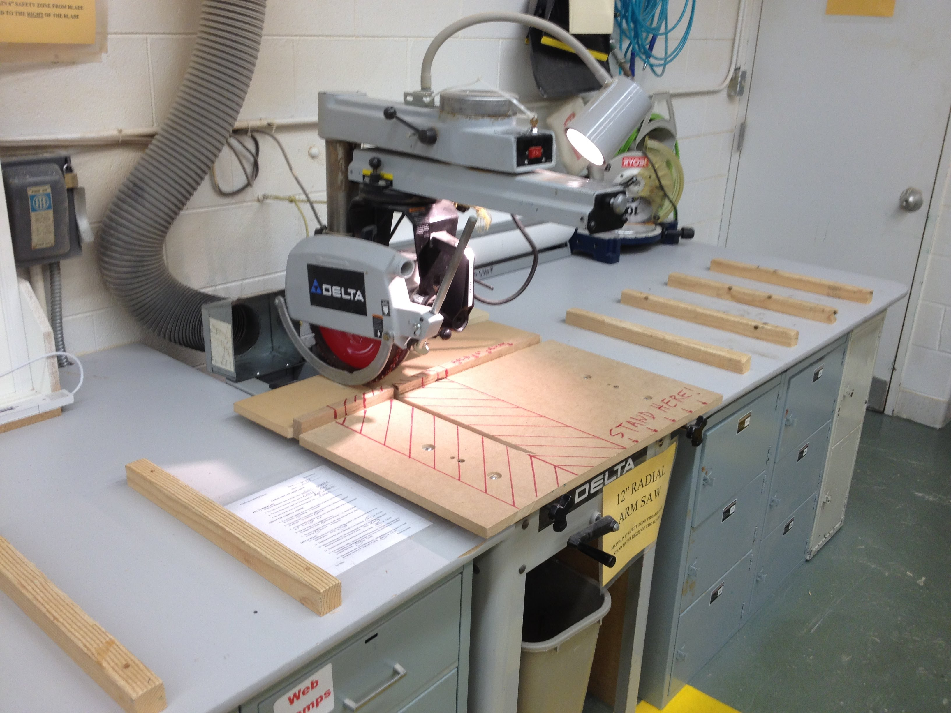 ridgid radial arm saw manual
