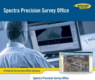 spectra precision survey office manual