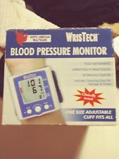 wristech blood pressure monitor manual
