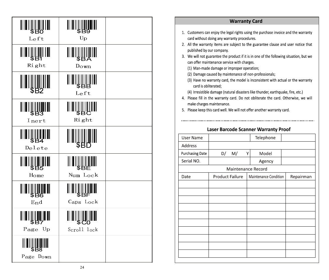 x 620 barcode scanner manual